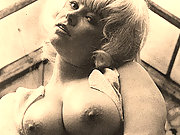 Retro babes show their giant tits