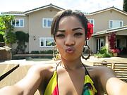 Hot Jamaican girl with nice booty
