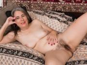 Jamie models her pink lingerie before getting nude