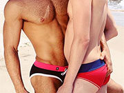 Nothing turns me on more than two guys in speedos making out.