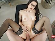 Czech pornstar Billie Star in VR Porn