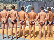 Can you imagine what these young swimmers are getting up to in the showers....