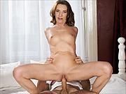 Sexy mature brunette woman banged