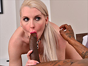 UK blonde milf interracial sex