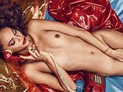 Joan Smalls nude for Lui Magazine