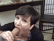 Enjoy in our beautiful ladies collection of mature wife sucking dick gifs.