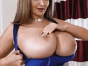 Enjoy in our ladies' collection of bored housewife shows off huge tits gifs.