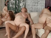 Enjoy in our collection of My first grandma orgy gifs.