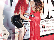 Lots of fun with transgender celebrities at the party in Hollywood