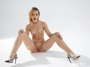 Lovely Roxy Knight nude in stockings and heels