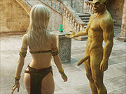 Naura gets 3D fucking from an orc