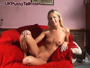 Slim English blonde Suzie Best gives interview for UK Pussy Talл