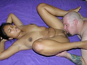 Amateur Asian Girlfriend Giving A Blowjob And Getting Her Pussy Eaten