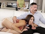 Blair Williams spanking goes taboo