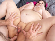 Sexy BBW Alexis Abuse gets her holes drilled