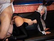 Bunny girl Nanako Nanahara cosplay sex