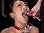 Japanese Milf Cumlover Hoshino Rei Enjoys Sperm