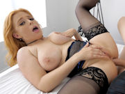 Busty redhead Penny Pax gets her ass shagged