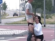 Don't miss our collection of public blowjob gifs