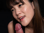 Japanese Jizz Swallower Aya Komatsu Opens Mouth