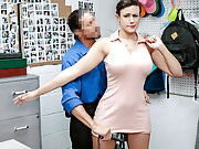 Penny Barber caught and fucked at Shoplyfter Mylf