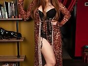 Bailey jay shemale the bookshelf whore flaunts her massive cock