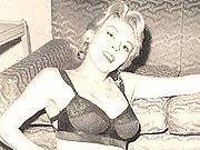 Vintage babes in lingerie
