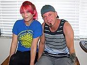 Amateur Petite Emo Redhead Teen Giving A Handjob