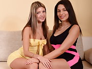 Zafira loves making out and kissing girlfriend