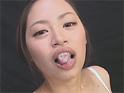 Swallows and keeps down over a hundred cumshots