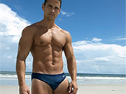 There is nothing hotter than a str8 guy in speedos and doing gay things.