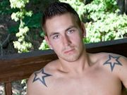 Tanned and toned Wade puts on a very slow sensual show as he strips
