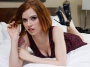 Redhead cutie Pepper Hart pov fucked on casting
