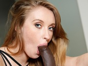 Gorgeous Harley Jade likes a big black cock action