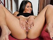 Tasty Latina spreading her pleasure