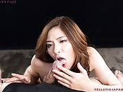Reina loves to suck cock in new video