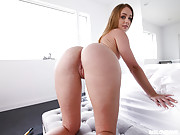 Teen with a juicy ass gets banged hard by her stepbro POV style