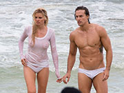 Aussie Couple Modelling in Speedo Swimsuits