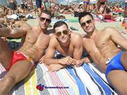 Latest hot gay swimwear models from SwimmerBoyz.com