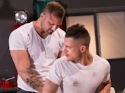 Lustful apprentice Rex Cameron gets 'Overpowered' by muscle mechanic