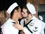 The Fleet is in port and these gay sailors can't wait to fuck!
