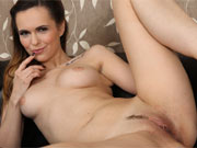 Nasita Allara young beauty strips and fingers pussy