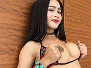 String bikini sex doll ladyboy barebacked