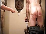Femdom females punishing males with spanking