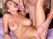 Freckle chested mature cougar sex