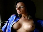 Busty Kelly Hart Early Morning Light shows her big rack