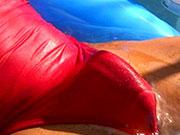 Cocks bulging in speedo swimwear.