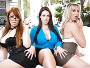 Lipstick Lesbians - Penny Pax, Brett Rossi, Angela White