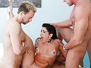 Monica Santhiago Bangs the Whole Gang