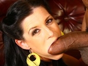 Brunette milf India Summer on a bbc in fuck action